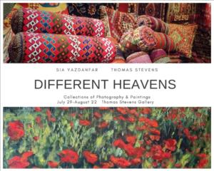 Different Heavens exhibit poster